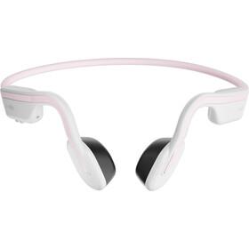 AfterShokz Openmove Bone Conduction Headphones, wit/roze